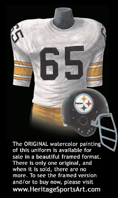 Pittsburgh Steelers 1974 uniform