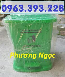 Thùng đựng rác thải y tế 25L, thùng rác y tế đạp chân 25L, thùng rác nhựa 7cac71407c2e9a70c33f
