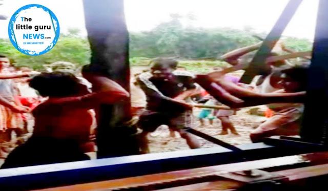 दबंगई के दम पर गांव के ही एक लड़के को पेड़ से बांध की पिटाई