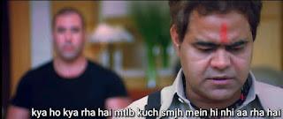Kya ho kya rha hai matlab kuch samajh mai hi nahi aa raha hai, Sanjay Mishra as pandit ji | best welcome movie meme templates & dialogue