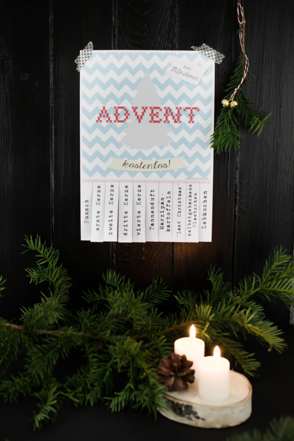 Freebie: Advent ToGo