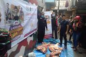 ACT Distribusikan Daging Hewan Qurban di Wilayah RW 005 Dursel