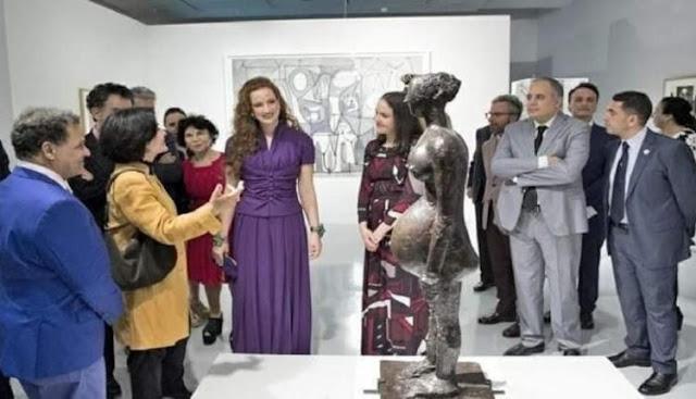 بعد غياب طويل.. الأميرة لآلة سلمى تقوم بزيارة متحف محمد السادس