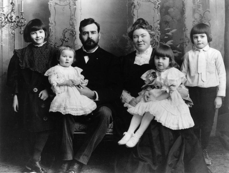 Ernest Hemingway Family Photo