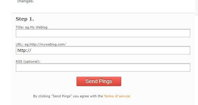 Blog Ping क्या है? Blog Ping कैसे करें? Blog Ping के फायदे