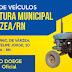Prefeitura de Várzea realiza leilão de veículos e sucatas