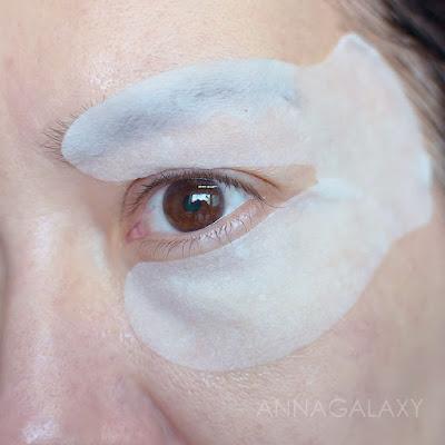 Необычная форма Патчи под глаза с гиалуроновой кислотой Lanbena Hyaluronic Acid Eye Mask