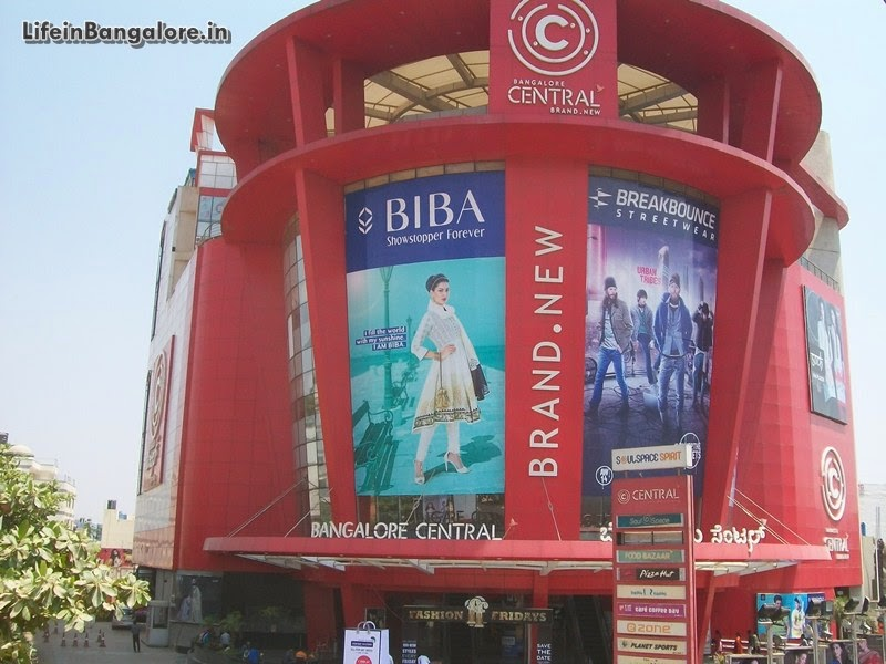 Bangalore Central in Soul Space Arena Mall with Cinimax