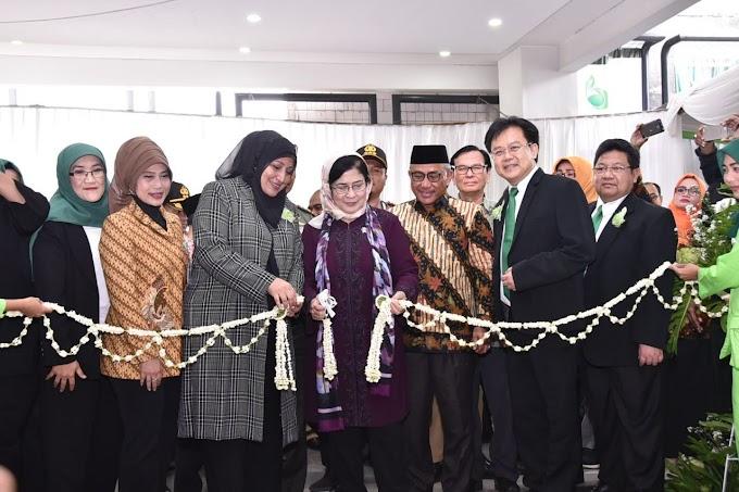 Menteri Kesehatan Resmikan RS Bunda Aliyah Depok