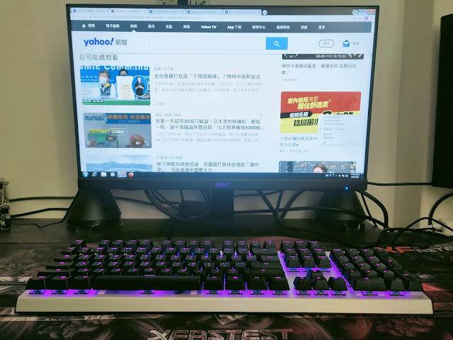免軟體調光的Cooler Master CK351-SKOL1 RGB電競機械鍵盤(青軸)開箱分享 - 4