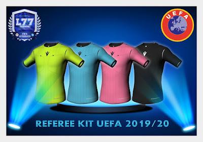 FIFA 19 Referee Kit UEFA Season 2019/2020