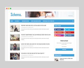 Schema Blogger Template Premium Free Download |
