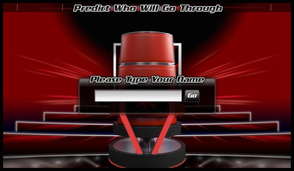 Danny O'Donoghue net: The Voice Predictor Game