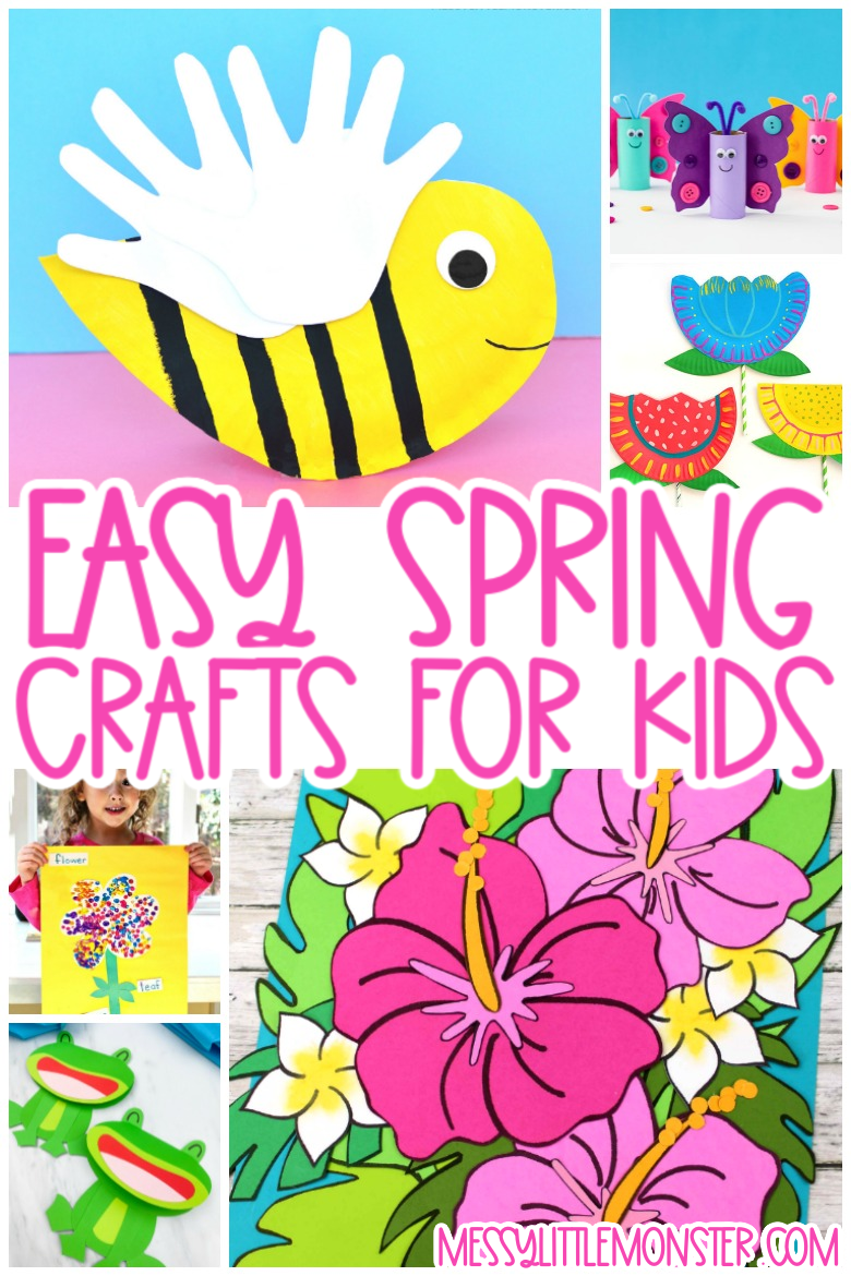 Fun and easy Spring crafts for kids