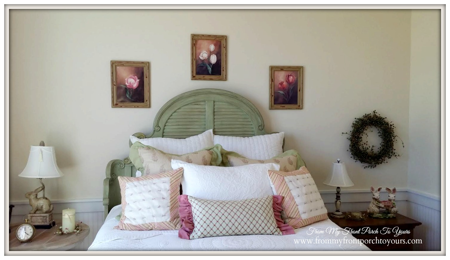 Farmhouse Model Home-Guest Bedroom-Trendmaker Homes- From My Front Porch To Yours
