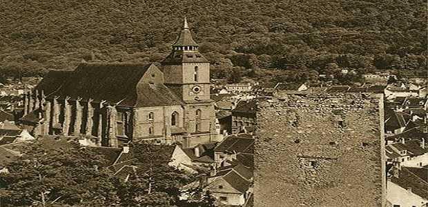 Fotografii vechi Biserica Neagră din Brașov, Turism în Romania