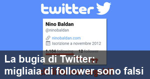 Il mio reportage sui falsi follower di Twitter