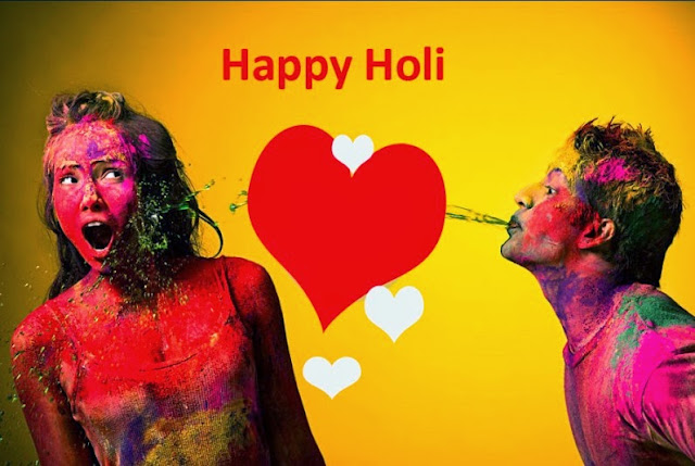 Happy Holi Quotes, Messages, Sms for Girlfriend Boyfriend