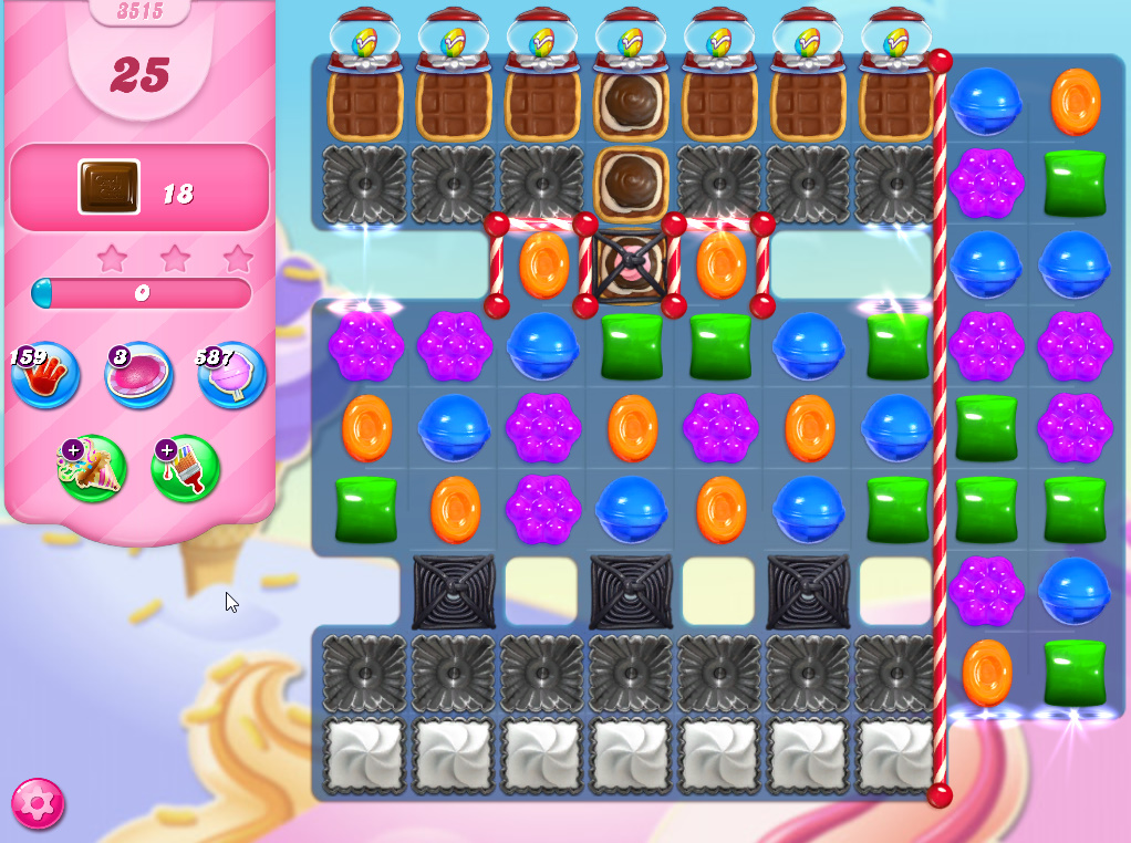 Candy Crush Saga level 3515