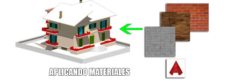 Aprenda a aplicar materiales en AutoCAD 3D para un render realista