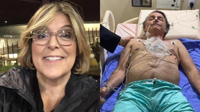 Jornalista faz corrente de oração pela morte de Bolsonaro