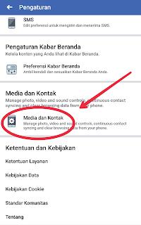 Menghentikan putar otomatis video facebook