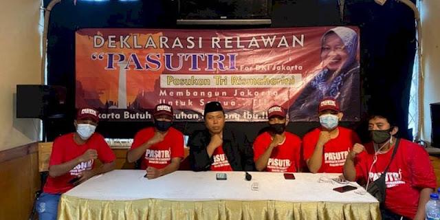 Resmi Deklarasi, Relawan Pasutri Yakin Jakarta Butuh Sentuhan Risma