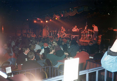 The band Jesse Blue opening up for The Marshall Tucker Band on stage at The Club Bene June 20, 1998