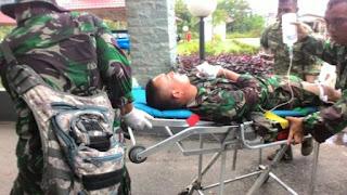 Salah Satu Korban Kecelakaan Latihan di Natuna