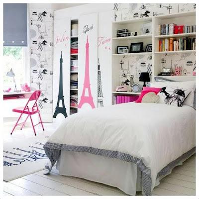 los deseos de una chica: Diseños de cuartos juveniles para ...