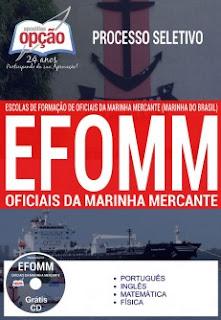 Apostila concurso Marinha Mercante - Oficiais da EFOMM 2018