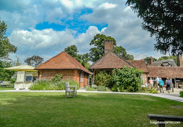 Acesso ao Museu Casa de Jane Austen