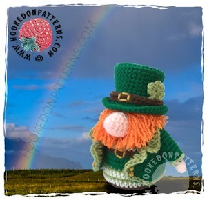 Free St. Patrick's day gnome crochet pattern