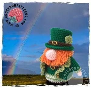 Free St. Patrick's day gnome crochet pattern