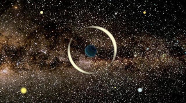 planetas flutuantes