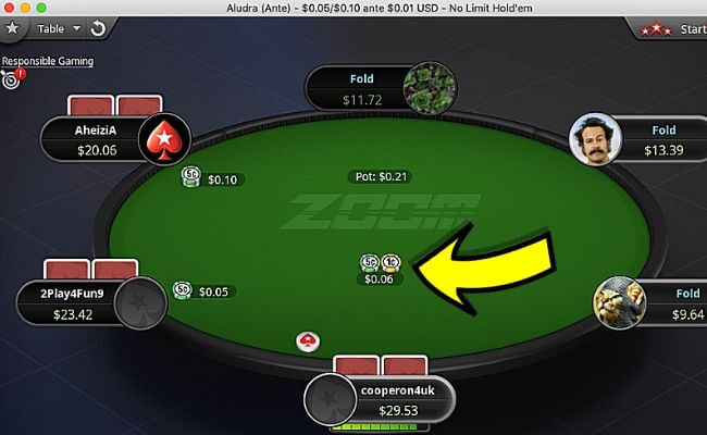 How to Beat PokerStars Zoom Ante Games