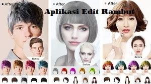 Aplikasi Edit Rambut