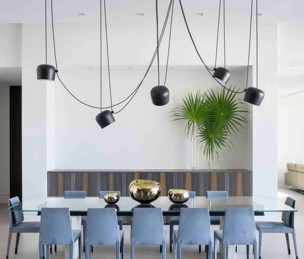 أحدث أشكال ديكورات غرف طعام مودرن 2021 بالصور