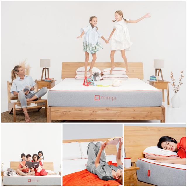 Mimpi, Kasur Latex Premium yang Bikin Tidur Makin Berkualitas