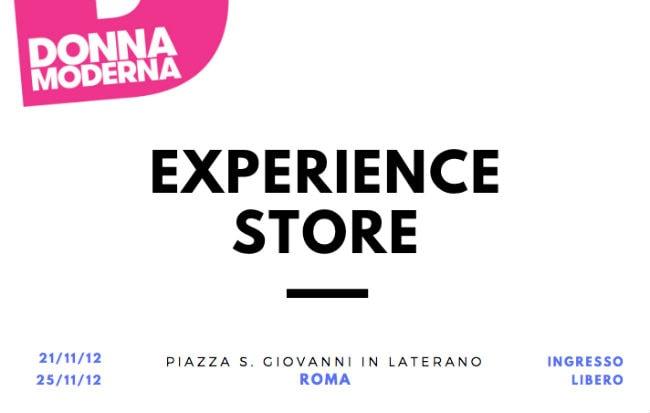 L'Experience Store di Donna Moderna a Roma