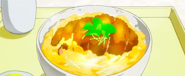 anime food katsudon