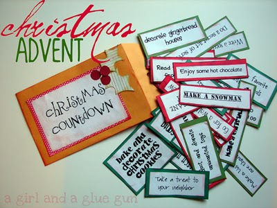 Use this fun countdown to Christmas with free printables