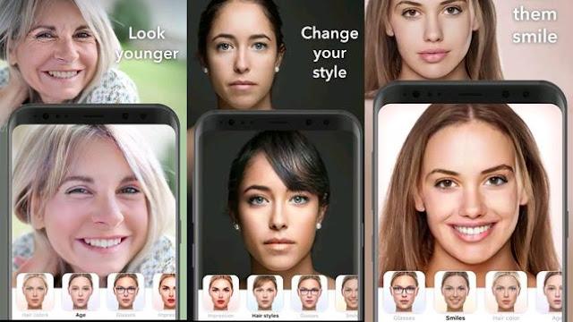 FaceApp Edit Wajah Dan Kelamin Anda