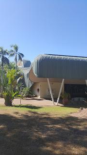 Crocodile Shaped Hotel   Mecure Jabiru