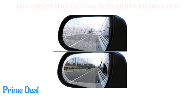 50%OFF Waterproof car Film Rearview Mirror