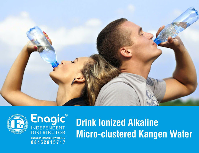 Alkaline water helps in weight management