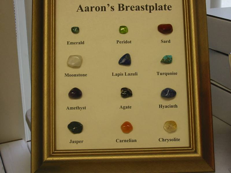 Image result for Breastplate of Aaron gemstones
