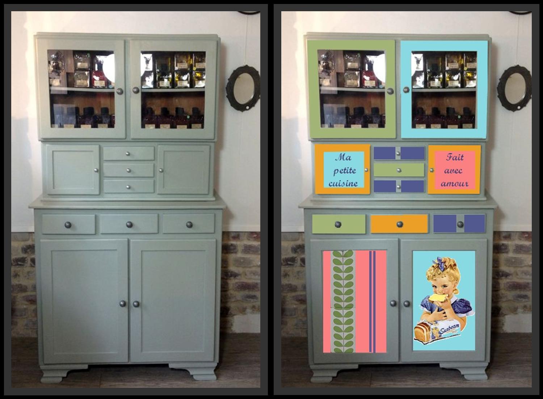 Relooker un buffet mado buffet ann es 50 - Peinture relooking meuble ...