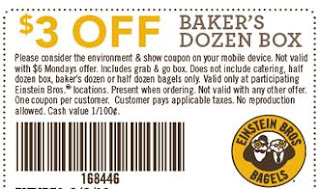 Einstein's Bagels Coupons - Einstein bagel - Einstein Bros