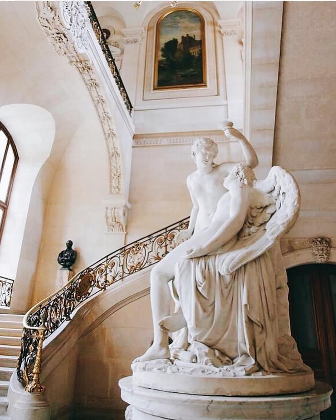 Amour et Psyché, François-Nicolas Delaistre (1746-1832), Musée du Louvre, Paris